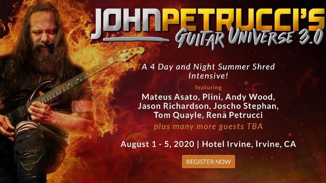 John Petrucci Guitar Universe 3.0