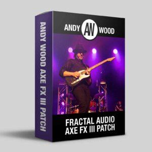 Andy Wood Music Axe FX III product image