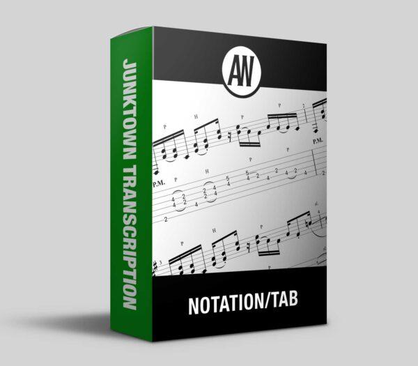 Andy Wood Music Notation Tab box image