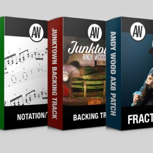 Andy Wood backing track transcription ax8 product boxes